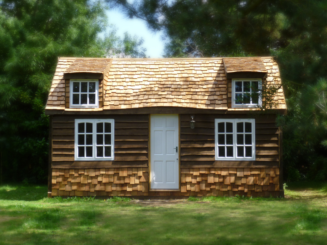 Build your very own self build garden cabin custom for Kits for building a house