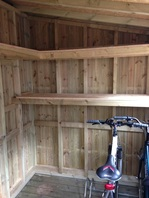 Bespoke Posh Garden Bike Shed Surrey