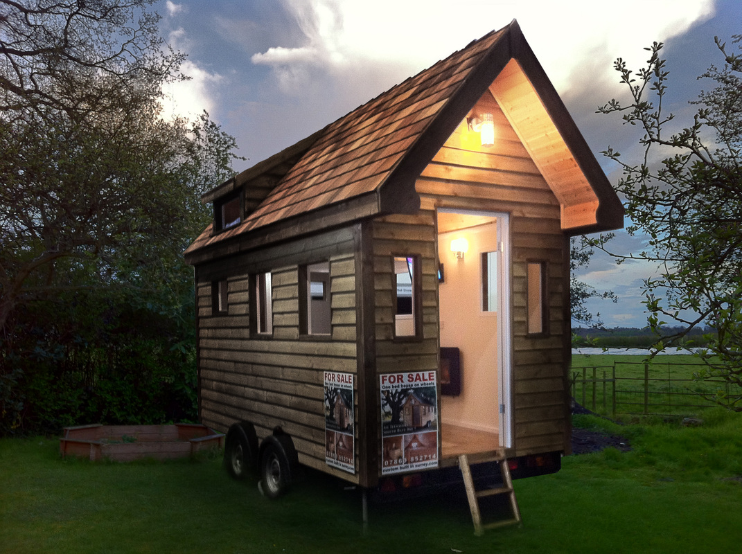 tiny house 39 s on wheels for sale in the uk custom built. Black Bedroom Furniture Sets. Home Design Ideas