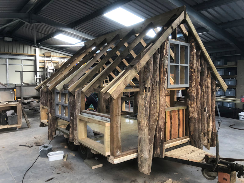 Chicken Coop build,  Cluckingham Palace