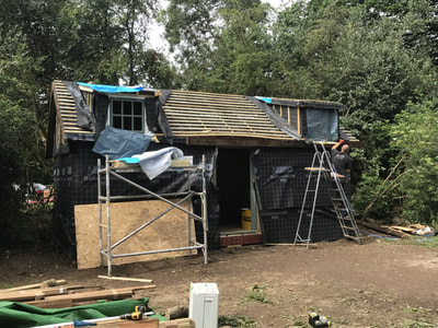 Secret Cottage Westerham Cabin Build